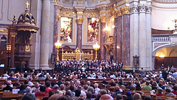 Berliner Dom Annual German American Advent Service American